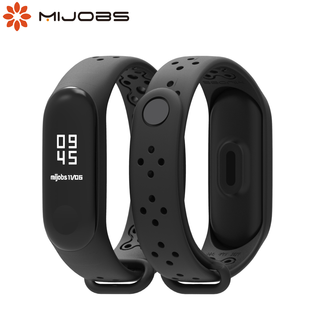 Mi Band 4 Strap Breathable Silicone Bracelet For Xiaomi Mi Band 3/4 Smart Wristbands Pulseira Sport Straps For Miband Watch