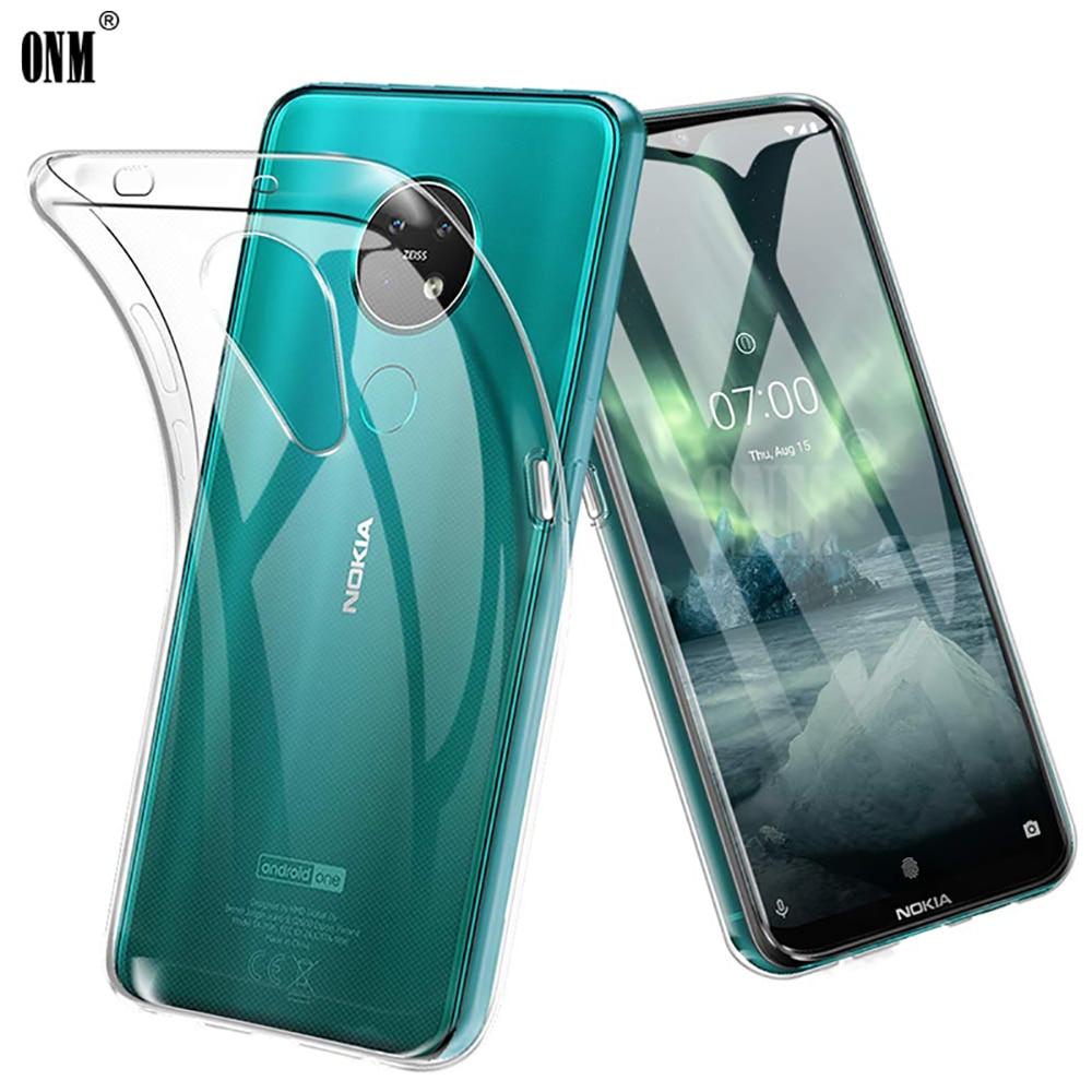 Для Nokia 7,2 TA 1196 TA 1181 TA 1178 TA 1193 тонкий кристально чистый мягкий ТПУ задний Чехол защитный чехол для камеры|Чехлы-накладки|   | АлиЭкспресс