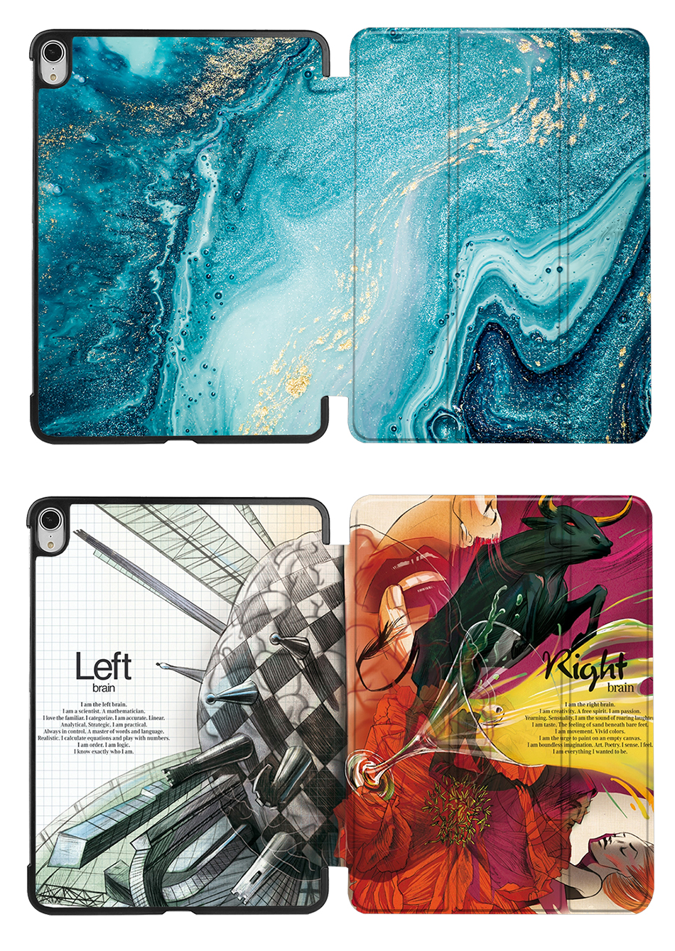 Pro inch iPad Sanmubaba 4th Cover Generation Air Magnetic Leather Case PU Slim For 2020 10.9
