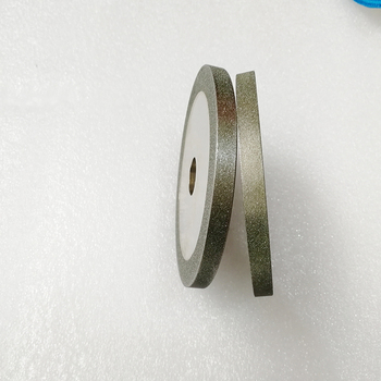 цена на Electroplated diamond CBN parallel grinding wheels Abrasive disc