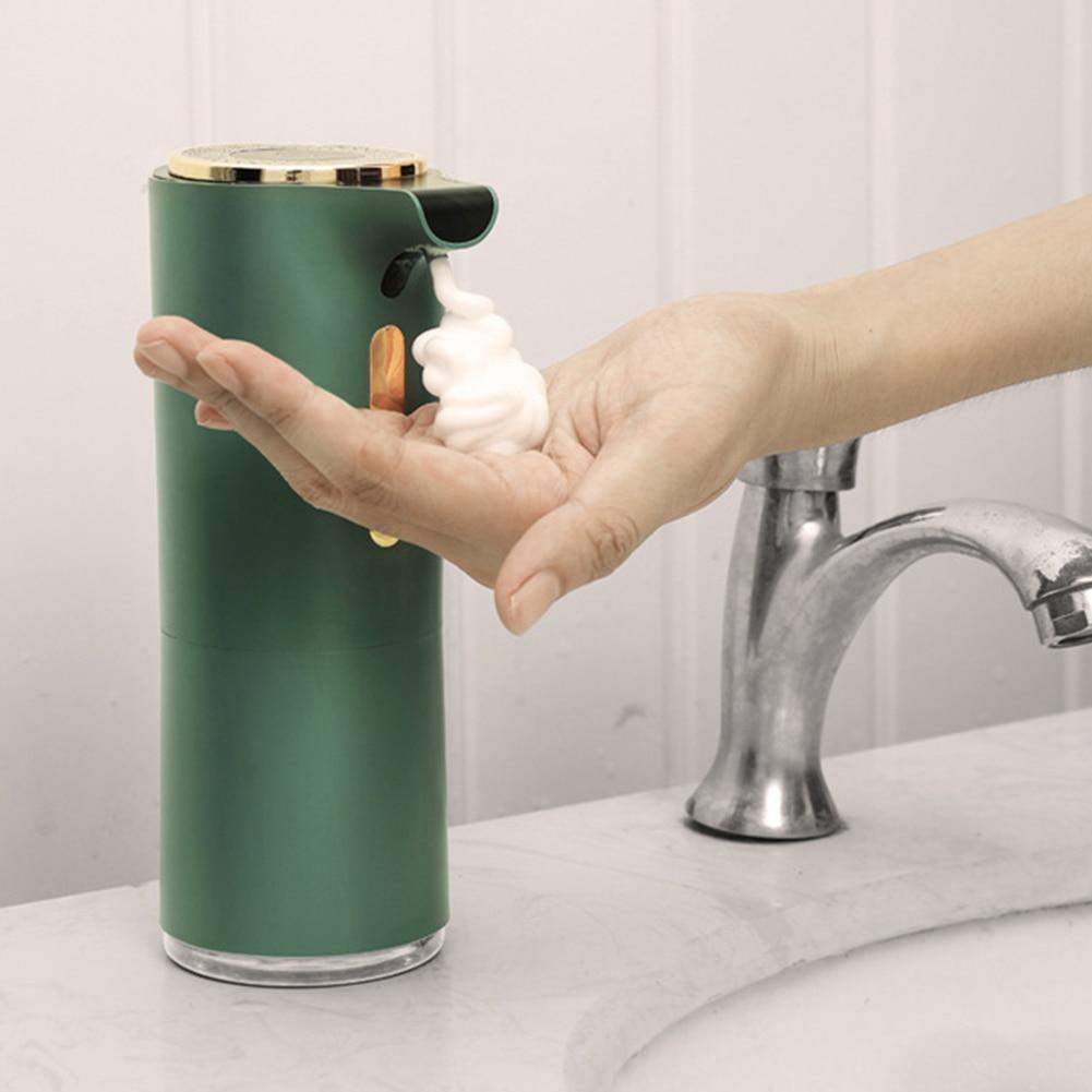 550ml Automatic Foam Soap Dispenser Induction Liquid Hand Washing Machine Kitchen Intelligent Foam Touchless Infrared Sensor|Liquid Soap Dispensers| - AliExpress