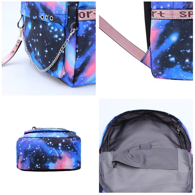 Blauw Mochila roblox rugzak voor tieners Kinderen MEISJES Student School USB Tassen Laptop Jongen Schoudertassen rugzak