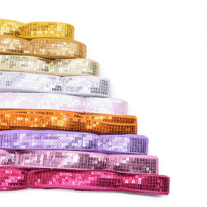 Лента для шитья 10 ярдов, 25 мм, Блестящая лента для шитья, лента для упаковки в подарок, ленты для вечерние украшения, сделай сам, Упаковка для ...