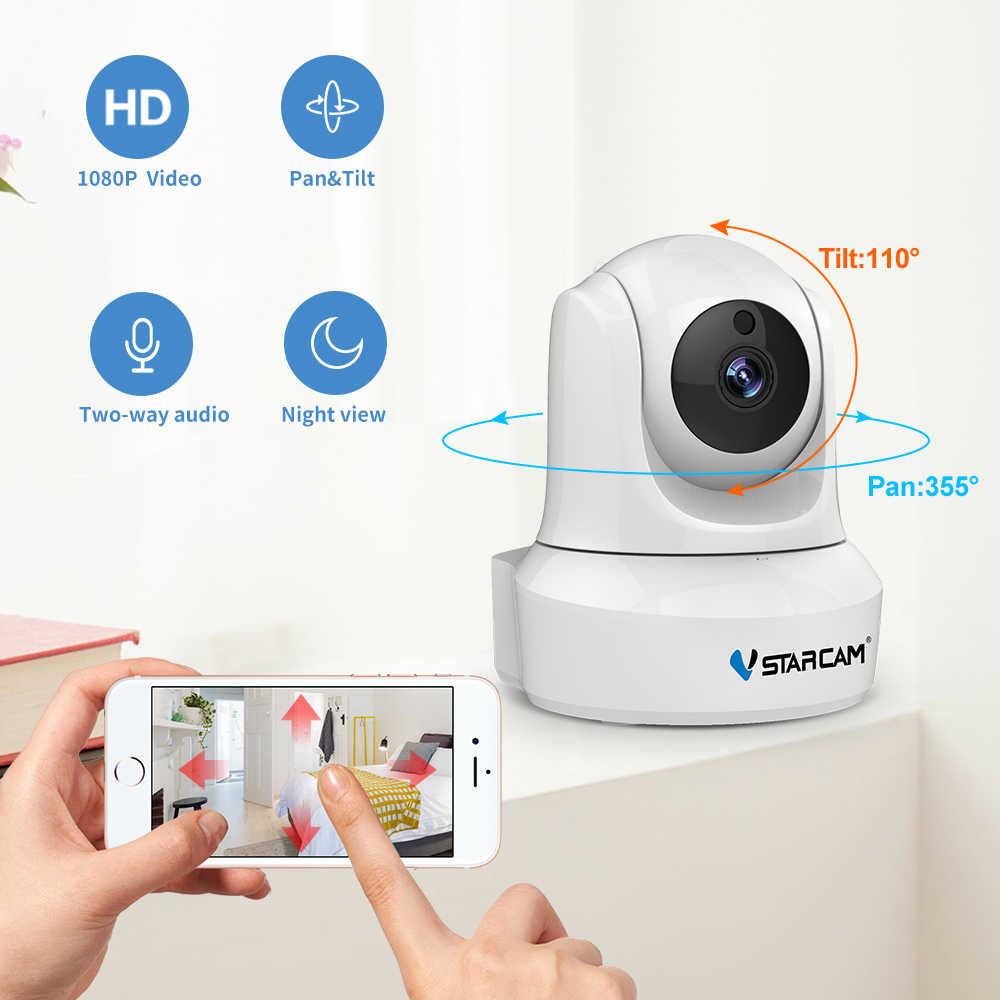 VStarcam 720P ip-камера безопасности Wi-Fi ИК ночного видения аудио запись наблюдения беспроводная домашняя HD веб-видеоняня
