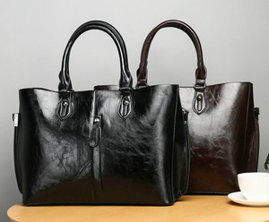 Image 3 - Luksusowe miękkie skórzane torby kobiety moda proste torebki dla kobiet 2019 nowe panie wysokiej jakości torba na ramię Bolsos Mujer