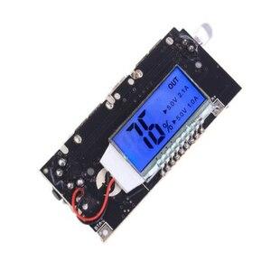 Image 5 - Bảo Vệ Tự Động! 2 Cổng USB 18650 Sạc Pin PCB Mô Đun Nguồn 5V 1A 2.1A Điện Di Động Ngân Hàng Điện Thoại DIY LED Màn Hình LCD mô Đun