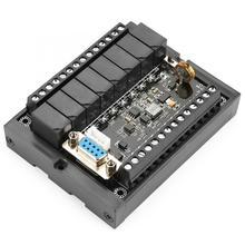 PlcプログラマブルロジックコントローラFX1N 20MR産業用制御ボードDC10 28Vリレー遅延モジュールとシェル