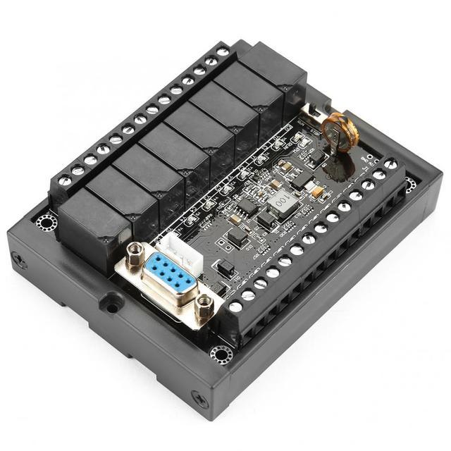 Sterownik PLC sterownik FX1N 20MR płyta sterowania przemysłowego DC10 28V moduł opóźnienia przekaźnika z powłoką
