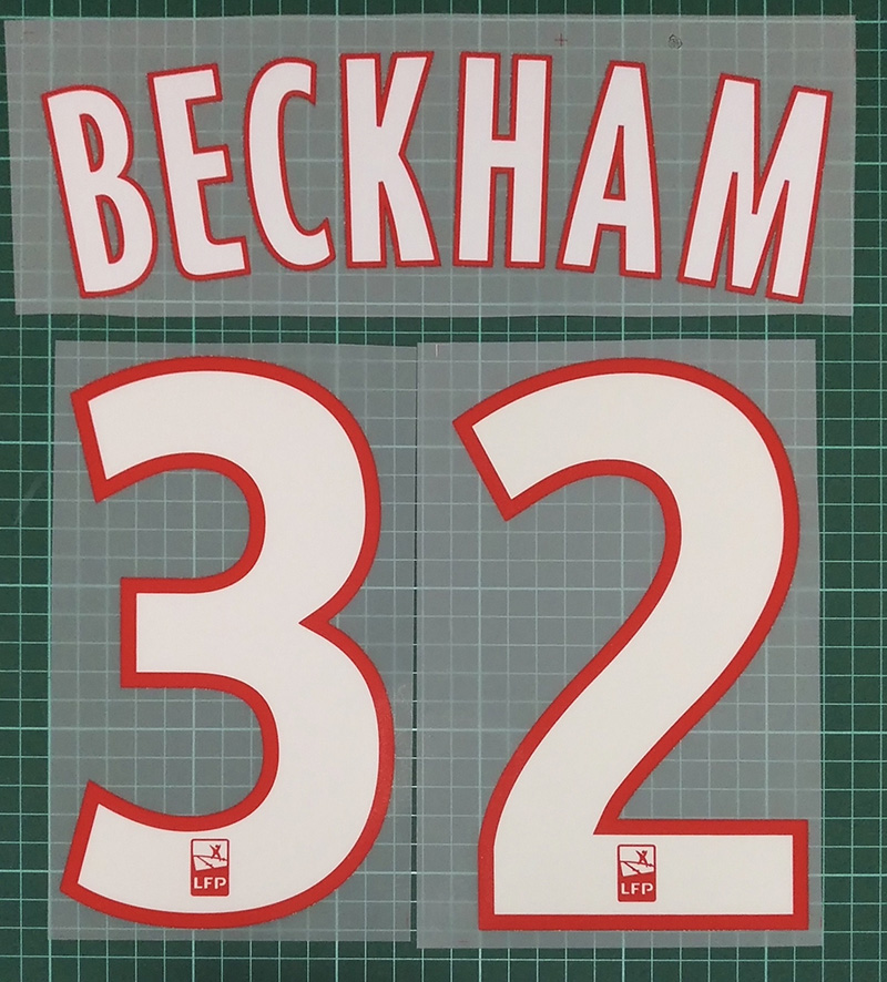 Ligue 1 ibrahimovic 10 beckham 32 kit nome da casa kit
