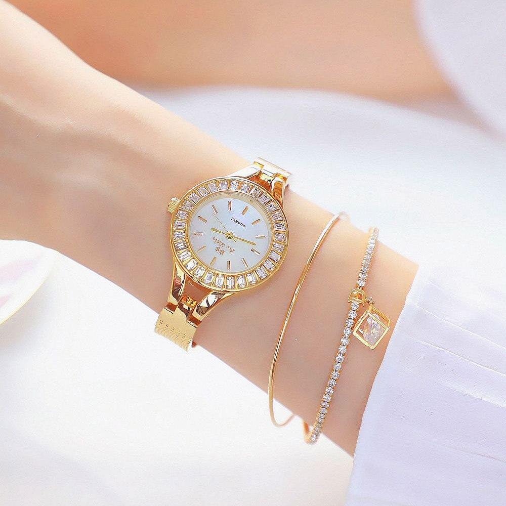 2020 Women Watches New Arrival Casual Brand Elegant Dress Crystal Quartz Watches Ladies Wristwatch Relogios Femininos