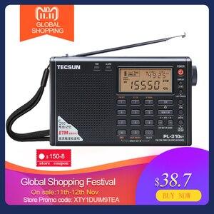 Image 1 - Tecsun PL 310ET מלא רדיו דיגיטלי ממצת אפנון FM/AM/SW/LW סטריאו רדיו נייד רדיו באינטרנט עבור אנגלית רוסית משתמש