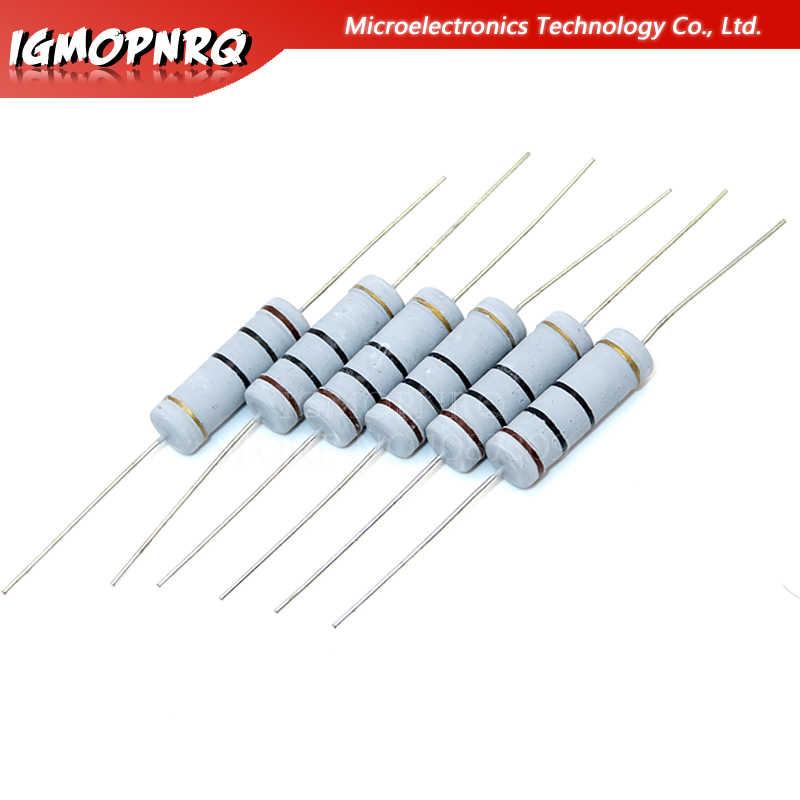100 PC de 2 vatios 22k Ohm 5/% de carbono resistencias de película 2w 22kohm