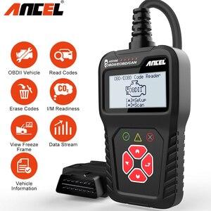 Image 1 - Ancel AS100 OBD2 Auto Scanner Lettore di Codice Del Motore ODB2 di Diagnostica Per Auto Multilingue OBD Automotive Scanner gratuito di Aggiornamento PK ELM327