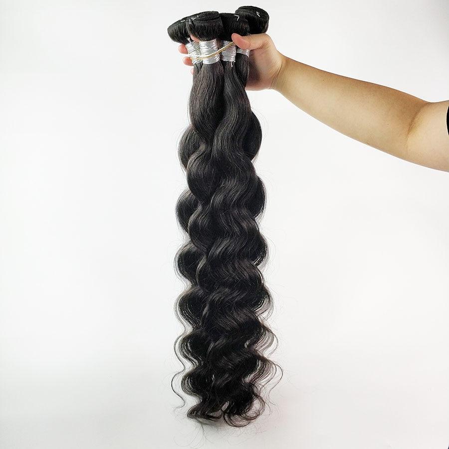 FDX Body Wave Bundles 30 32 34 36 38 40 Inch Bundles 100% Human Hair Bundles Top Quality Brazilian Hair Weave Bundles Remy Hair 4