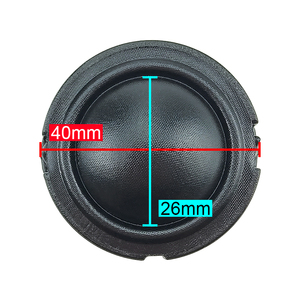 Image 3 - GHXAMP 1.5 אינץ 40mm הטוויטר רמקול 4ohm 30W 25 ליבה HifI רמקול טרבל כיפת משי סרט Neodymium עבור 2 דרך רמקול DIY 2pcs