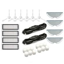 Repuestos para trapos de tela, cepillos de rodillo principal, filtro Hepa para repuestos de aspiradora 360 S7, accesorios