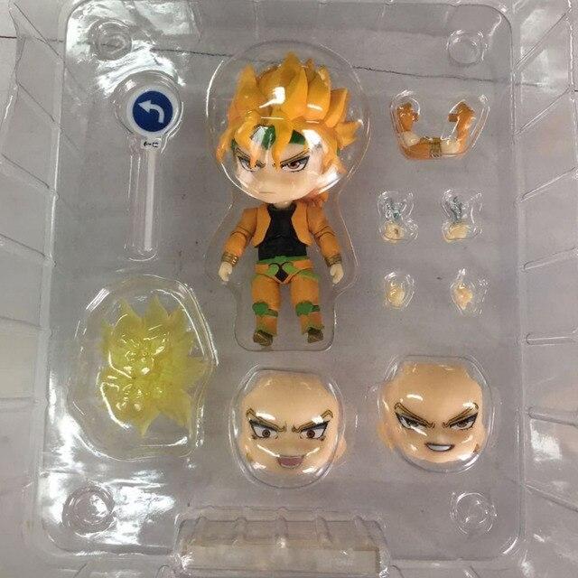 10cm JOJOs Bizarre Adventure Kujo Jotaro Dio Brando Stardust Crusaders Action Figure Toys Doll Christmas Gift With Box 5