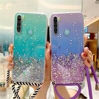 Funda con correa para Huawei P smart 2021 Y5P Y9S Y6P Y7 Pro 2018 Y7A Y7P Y8S Y9 Prime 2019 Y9a