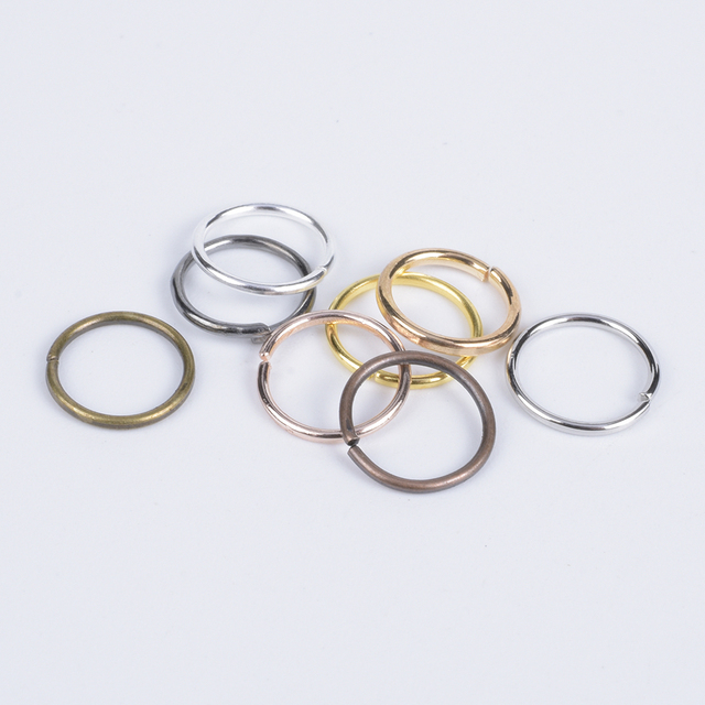 200Pcs/Lot 3-12mm Single Loop Open Jump Rings Diy Jewelry Making Accessories Split Rings Connectors For Jewelry Making Supplies 1