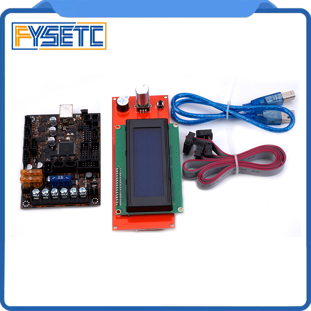 2004 LCD Display For Prusa i3 MK3 With 4 Trinamic T Einsy Rambo 1.1a Mainboard