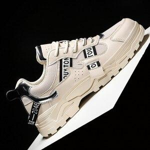 Image 4 - BIGFIRSE Casual Shoes Men New Brand Design Men Casual Shoes Fashion Leisure Designer High Top Shoes Man Trend Flat Sneaker Shoes