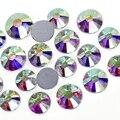 Супер чистый AB SS3 SS4 SS5 SS6 SS10 SS20 SS30 SS40 для дизайна ногтей Стразы Блестящие кристаллы сделай сам не исправление камней Декор страз