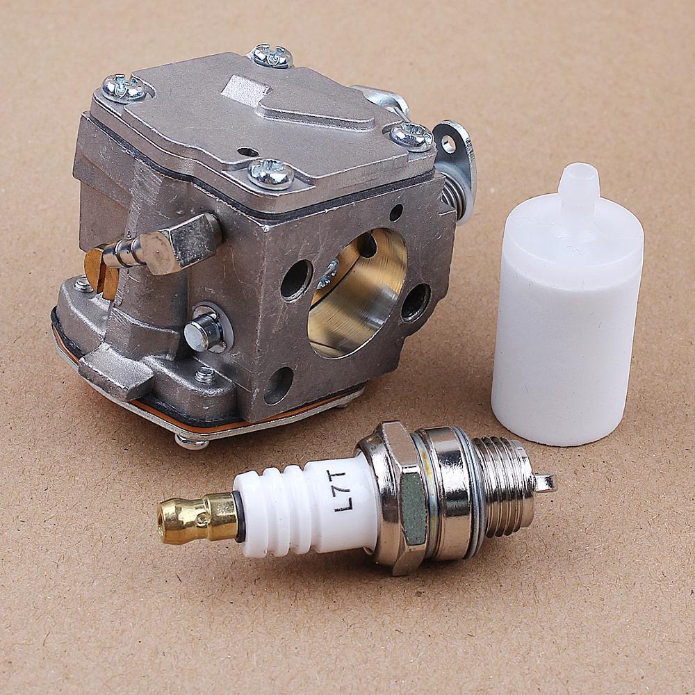 Tools : Carburetor Fuel Filter Spark Plug Kit fit Huaqvarna Partner K650 K700 K800 K1200 Cut-off Concrete Saw Carb 503280418 Parts