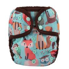 [Sigzagor]6 bir boyut bebek bezi bezi kapakları bebek bezleri ayarlanabilir su geçirmez PUL çift köşebent OS 4kg 13kg,40 tasarımlar