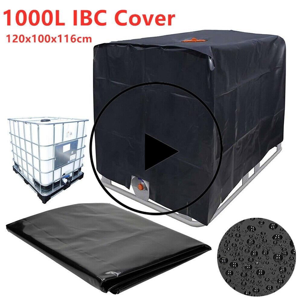 Réservoir deau housse de protection 1000 litres IBC conteneur étanche et anti-poussière couverture crème solaire Oxford tissu 210D outils dextérieur