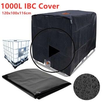 Защитный чехол для резервуара для воды, 1000 литров, IBC контейнер, водонепроницаемый и пылезащитный чехол, Солнцезащитная Ткань Оксфорд 210D, ин...