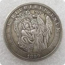Type # 30_Hobo Nikkel Coin 1899-P Morgan Dollar KOPIE MUNTEN-replica herdenkingsmunten(China)