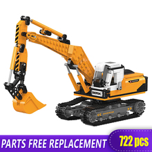 The Offroad Technic XingBao New 03038 Construction Excavator Vehicle Set Building Blocks bricks Toys boys Funny Christmas Gifts