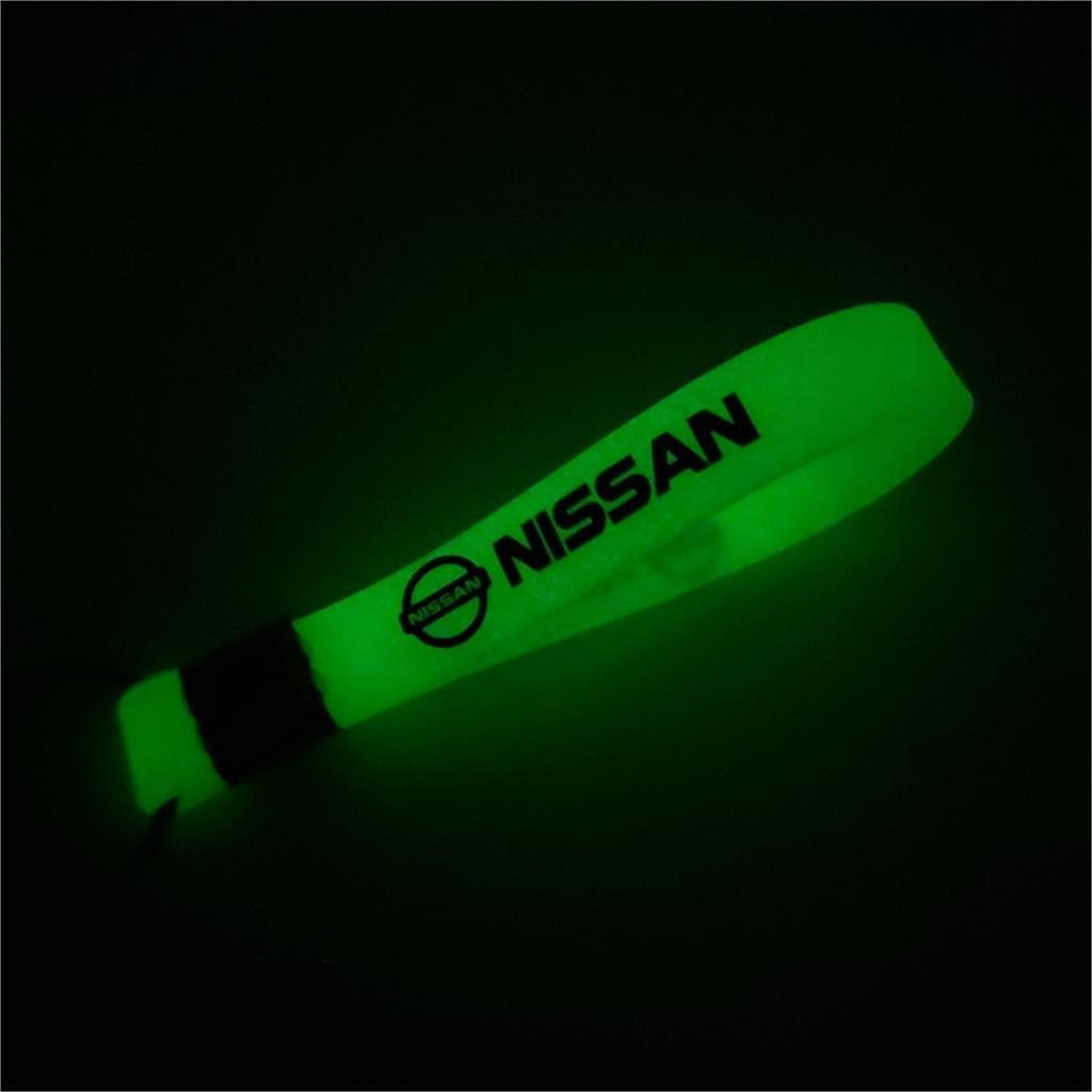Car Styling Auto Emblem Luminous Key Ring Case For Nissan Nismo X-trail Almera Qashqai Tiida Teana Skyline Juke Accessories