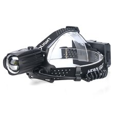 XHP90 Strong Headlight USB Charging Input And Output Telescopic Zoom P90 Outdoor Lighting Headlight Waterproof