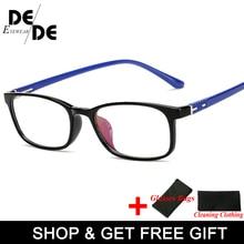 2019 New Arrival High Quality TR90 Glasses Clear Fashion Myopia Glasses No Degree Clear Optical Eyewears цены онлайн