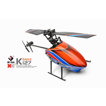 WLtoys Helicopters K127 2.4Ghz 4CH 6-Aixs Gyroscope Single Blade Propellor Gyro Mini RC Helicotper For Kids Gift RC Toys v911 3