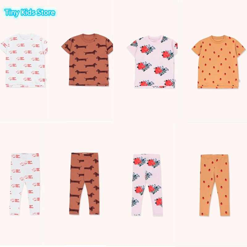 2020 new tiny kids pajama sets t shirts+pants 2 pcs clothing sets baby boy clothes baby girl clothes toddler girl clothes