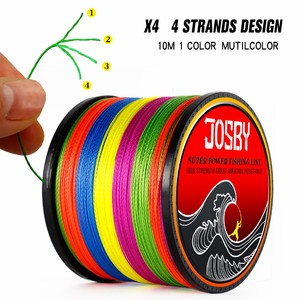 Image 2 - JOSBY 4 Braid Fishing line 10 120LB 150M 300M 500M 1000M 4 Strands Braid Fishing line Multifilament Fishing Wire Carp Fishing