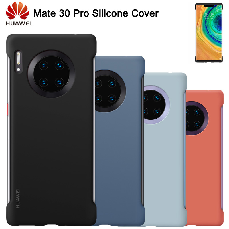 Original Huawei Shockproof Silicone Case For Mate 30 Pro