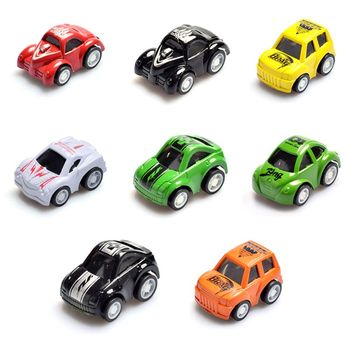 Mini Pull Back Let Go Fast Racing Car Racer Vehicles for Kids Children Gift image