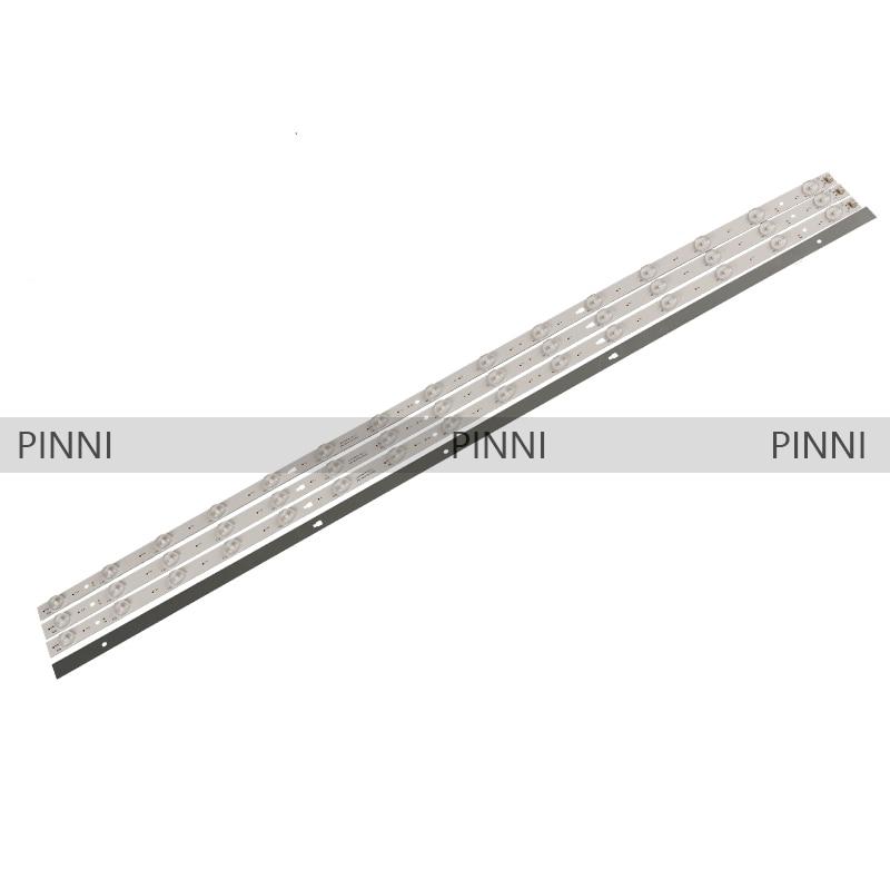 100% New 1set=4pcs LED Backlight Strip 15lamp LED42D15-01(C) 3034201520V For Hai Er LE42B310G LS42H6000 LE42B510F LS42K5500