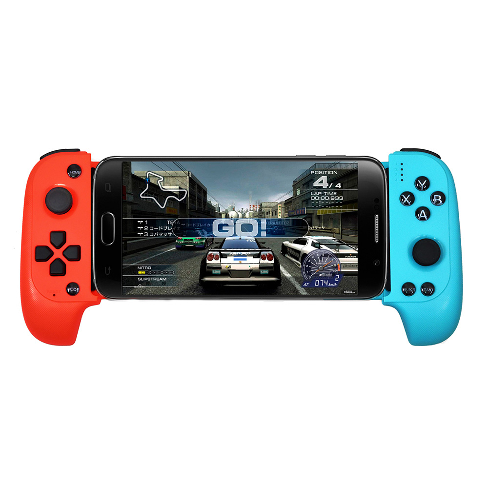Wireless Bluetooth Game Controller Telescopic Gamepad Joystick Peace Elite Fast Shooting Button Controller For Samsung iphone image