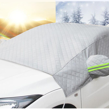 Windshield-Cover Front Half-Shield Anti-Snow Winter Car Clothing Thicken