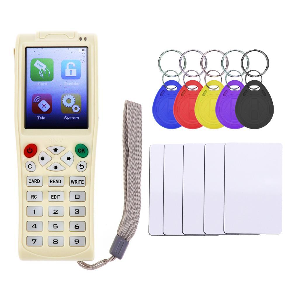 ICopy 5 RFID copiadora NFC IC ID duplicador lector escritor con función de decodificación completa tarjeta inteligente llave 3 versión en inglés el más nuevo-in Lectores de tarjetas de control from Seguridad y protección on AliExpress - 11.11_Double 11_Singles' Day 1