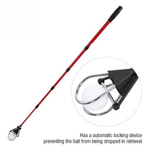Portable Five-Section Retractable Golf Ball Retriever Scoop Grabber Picker Pick Up Tool Training Aids Tools
