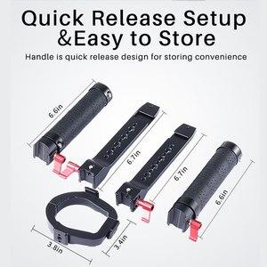 Image 3 - Uurig Dji Ronin Sc/S Dual Handleld Camera Stabilizer Verlengen Handvat Grip Voor Dji Ronin Sc/S Gimbal stabilizer Accessoires