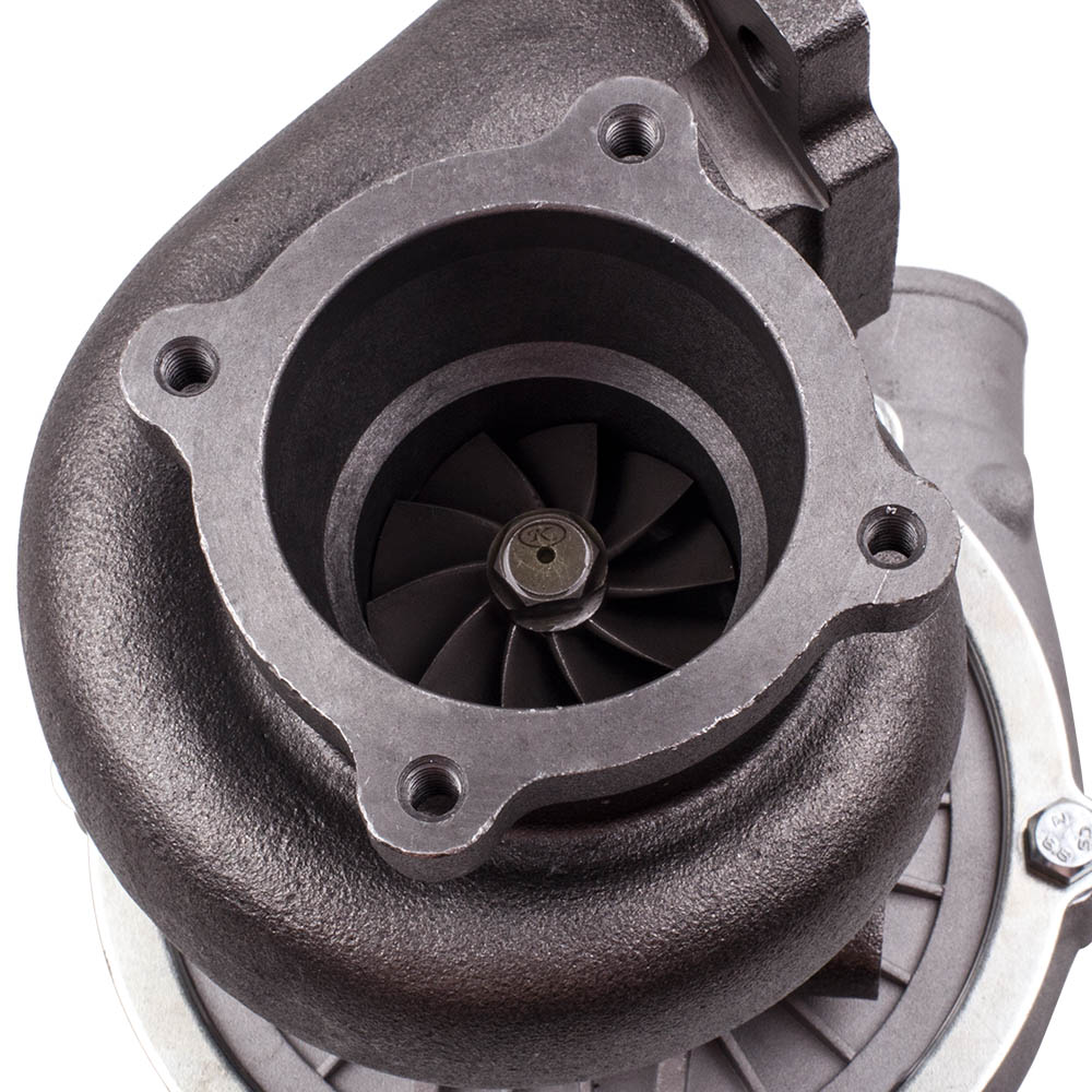 Image 5 - GT30 GT3037 GT3076 T3 Flange Water Cooled Turbocharger For all 6 8 cyl engine T3.82A/R 51 TRIM POLISHED TURBO CHARGER GT30 500HPTurbo Chargers & Parts   -