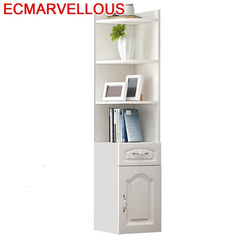 rangement wohnzimmer ecke schrank