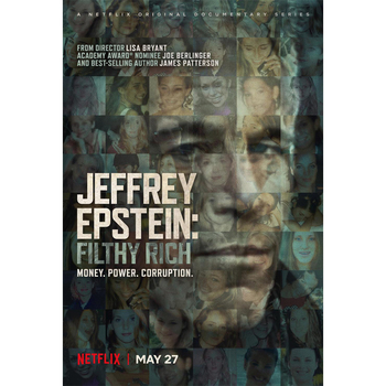 D0897 Jeffrey Epstein Filthy Rich Movie Silk Fabric Poster Art Decor Indoor Painting Gift image
