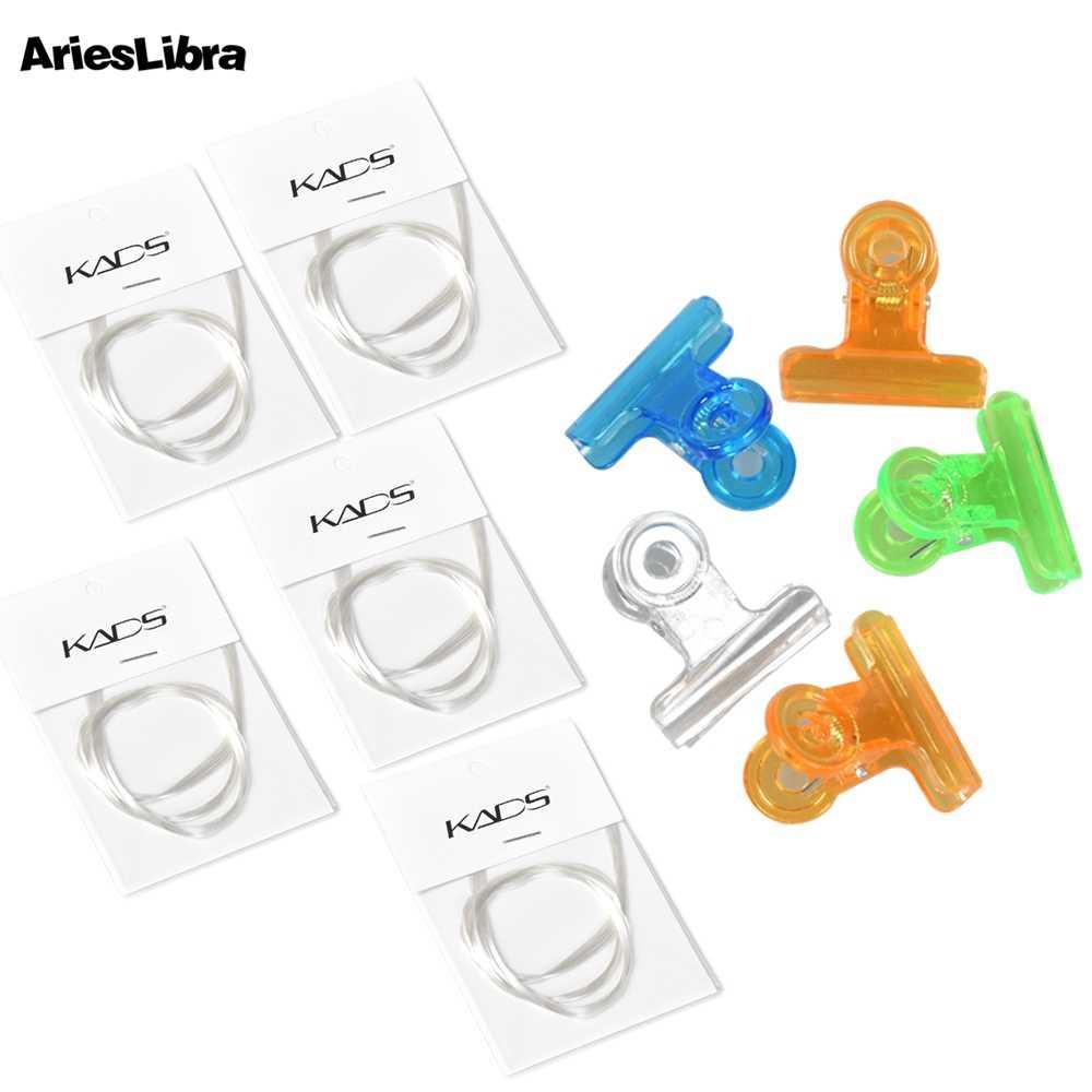 AriesLibra เส้นใยแก้วเล็บสำหรับ UV เจลอาคารเล็บ Fibernails แก้วอะคริลิคเล็บเคล็ดลับเครื่องมือแต่งเล็บ